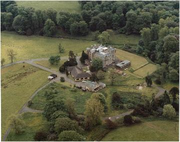 Arial view of Dunlop Estate