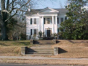 Simpson House in Laurens, SC built in 1839