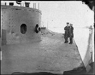 uss Monitor on the James River, Va. on July 9 1862